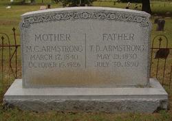 Mary Catherine <i>Elam</i> Armstrong