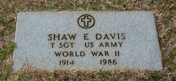 Shaw E Davis