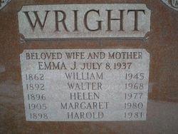 Helen Marie <i>Kraus deWolfe</i> Wright