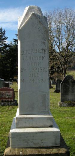 Elizabeth <i>Dixion</i> Hancock