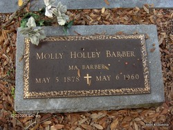 Gatsy Ann Mariah Molly <i>Holley</i> Barber