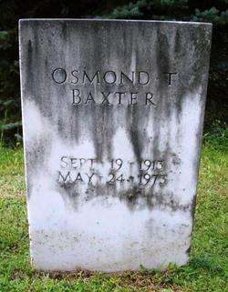 Osmond T. Baxter