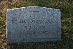 Myrtle <i>Dorman</i> Bauer