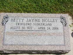 Betty Jayne <i>Winslow</i> Holley