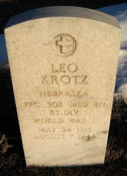 PFC Leo Krotz