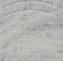 A J <i>Wiseman</i> Allen