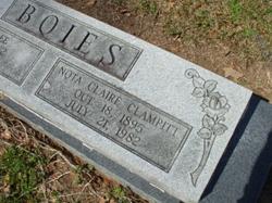 Nota Claire <i>Clampitt</i> Boies