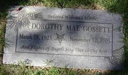 Dorothy Mae <i>Welsh</i> Gossett