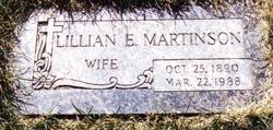 Lillian Evelyn <i>Weekley</i> Martinson
