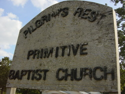 Pilgrims Rest Primitive Baptist Church Cemetery