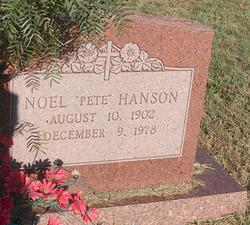 Noel Pete Hanson