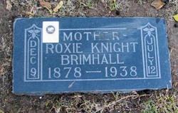 Roxie <i>Knight</i> Brimhall