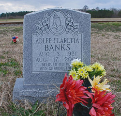 Adlee Claretta <i>Boyd</i> Banks
