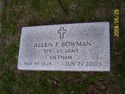 Allen F. Bowman