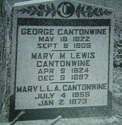 Mary M. <i>Lewis</i> Cantonwine
