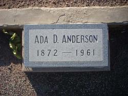 Ada Dove <i>Read</i> Anderson