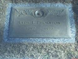 Lyda Lee <i>Hines</i> Thornton