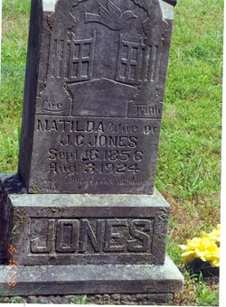 Nancy Matilda <i>Acuff</i> Jones
