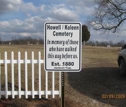 Howell/Koleen Cemetery