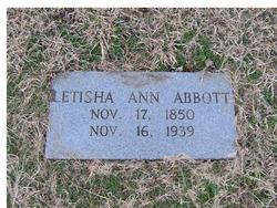Letisha Ann <i>Johnston</i> Abbott