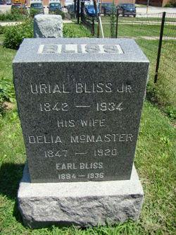 Delia <i>McMaster</i> Bliss