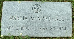 Marcia Matilda <i>Connor</i> Marshall