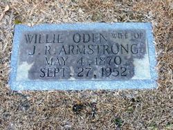 Willie <i>Oden</i> Armstrong