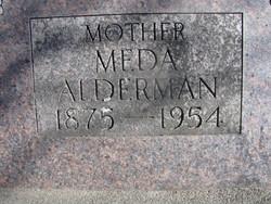 Almeda Ann Meda <i>Perry</i> Alderman