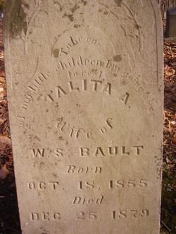 Talitha Arabella <i>Franklin</i> Bault
