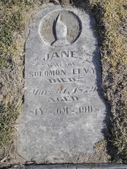 Jane <i>Richey</i> Levi
