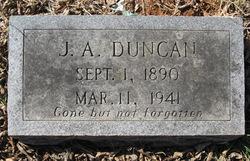 J A Duncan