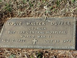 Louie Walter Duffee