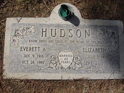 Elizabeth Virgie <i>Stone</i> Hudson