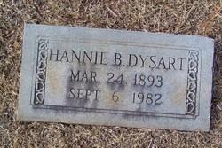 Hannie Belle <i>Biddix</i> Dysart
