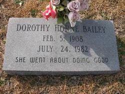 Dorothy Annie <i>Horne</i> Bailey