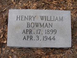 Henry William Bowman