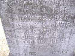 Mary Elizabeth <i>Mosby</i> Davis