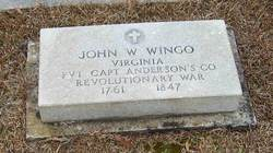 Pvt John Washington Wingo, Jr