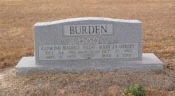 Mary Jo <i>Ormsby</i> Burden