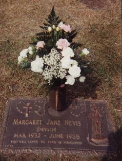 Margaret Jane <i>Devlin</i> Nevis