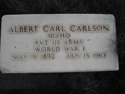 Albert Carl Carlson