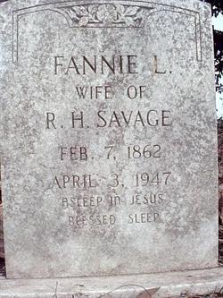 Fannie L. Savage