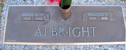 George L Albright, Sr