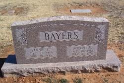 Fannie Lois <i>Barker</i> Bayers