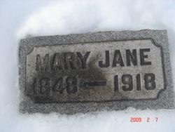 Mary Jane <i>Hicklin</i> Antram
