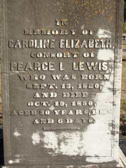 Caroline Elizabeth Lewis