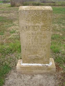 Pvt Alford Mason Jones