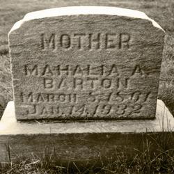 Mahalia Alice <i>Hottinger</i> Barton