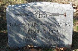 Olga Walton <i>Wagner</i> Ayers
