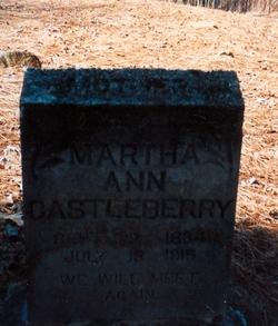 Martha Ann <i>Akins</i> Castleberry